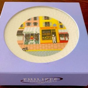 Brand new philippe Deshoulieres limoges plates.